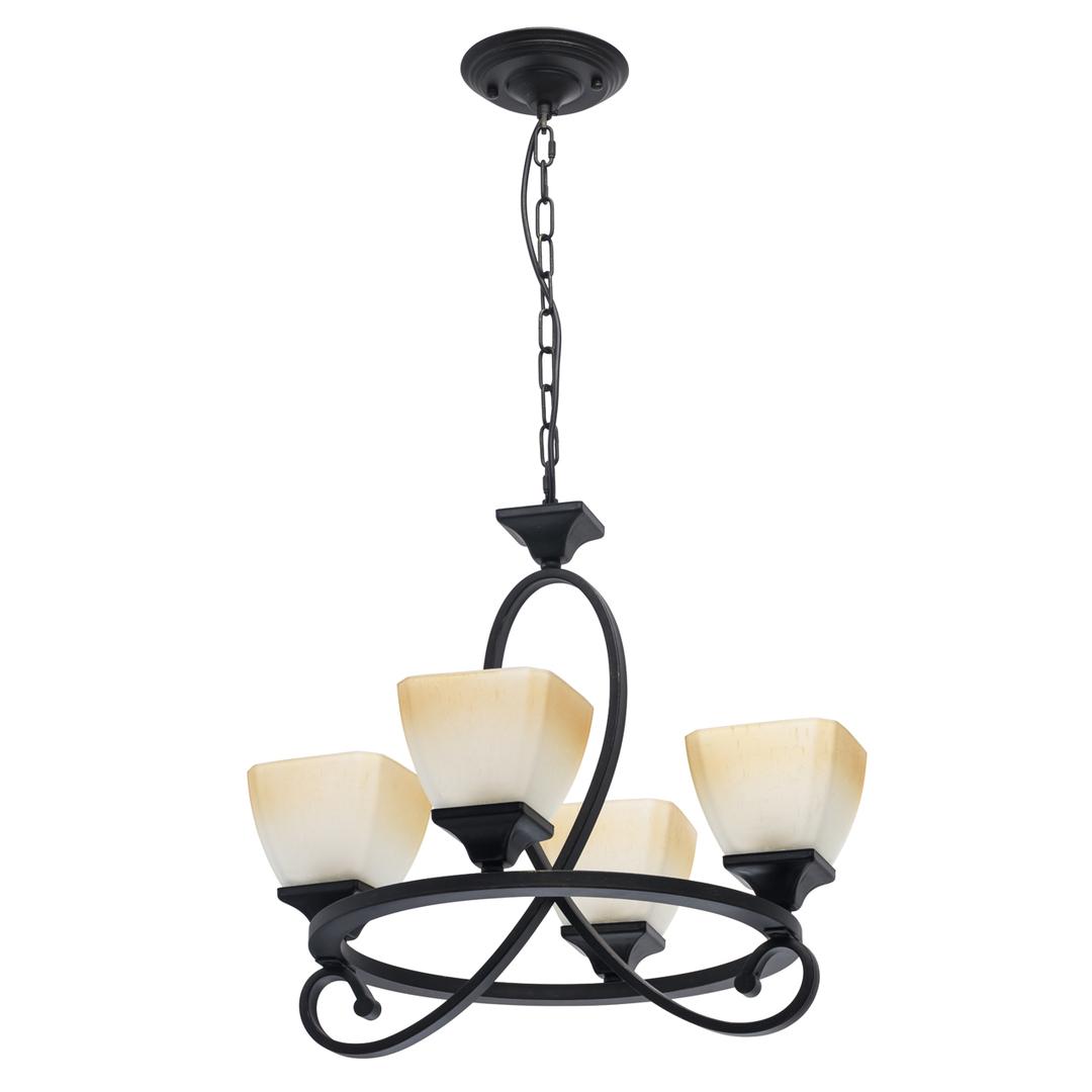 Lampa suspendată Castle Country 4 Black - 249018304