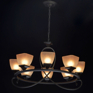 Lampa suspendată Castle Country 8 Black - 249018808 small 1