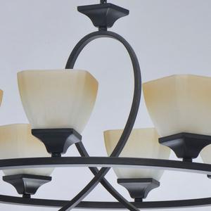Lampa suspendată Castle Country 8 Black - 249018808 small 9