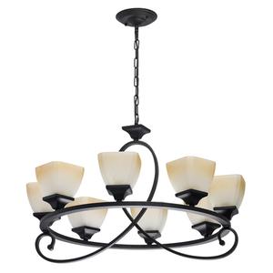 Lampa suspendată Castle Country 8 Black - 249018808 small 0