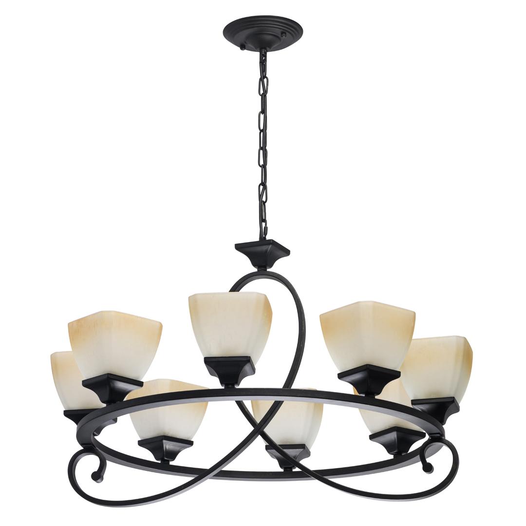 Lampa suspendată Castle Country 8 Black - 249018808