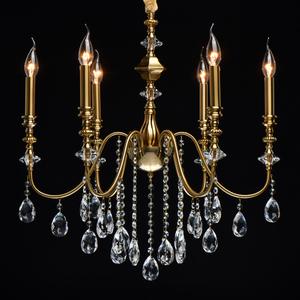 Lampa suspendată Consuelo Classic 6 Brass - 614012506 small 1