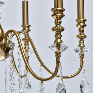 Lampa suspendată Consuelo Classic 6 Brass - 614012506 small 7