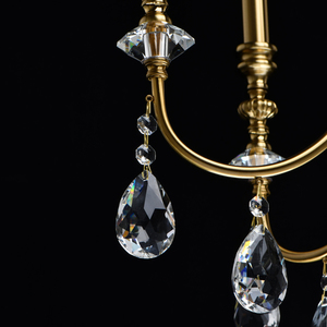 Lampa suspendată Consuelo Classic 6 Brass - 614012506 small 2