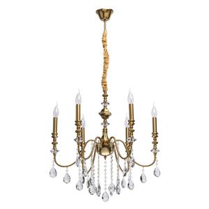 Lampa suspendată Consuelo Classic 6 Brass - 614012506 small 0