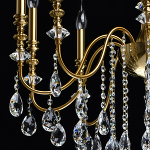 Lampa suspendată Consuelo Classic 10 Brass - 614012610 small 8