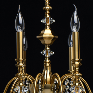 Lampa suspendată Consuelo Classic 10 Brass - 614012610 small 9