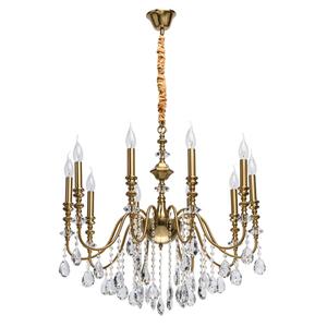 Lampa suspendată Consuelo Classic 10 Brass - 614012610 small 0