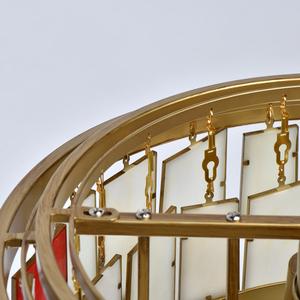 Lampa suspendată Maroc Megapolis 6 Brass - 185011106 small 13