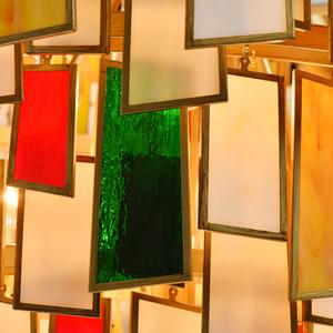 Lampa suspendată Maroc Megapolis 15 Brass - 185011215 small 5