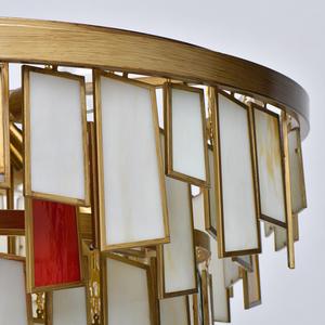 Lampa suspendată Maroc Megapolis 15 Brass - 185011215 small 7