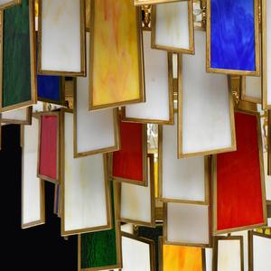 Lampa suspendată Maroc Megapolis 15 Brass - 185011215 small 9
