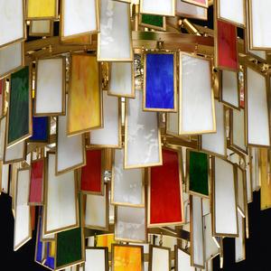 Lampa suspendată Maroc Megapolis 15 Brass - 185011215 small 2