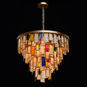 Lampa suspendată Maroc Megapolis 15 Brass - 185011215 small 0