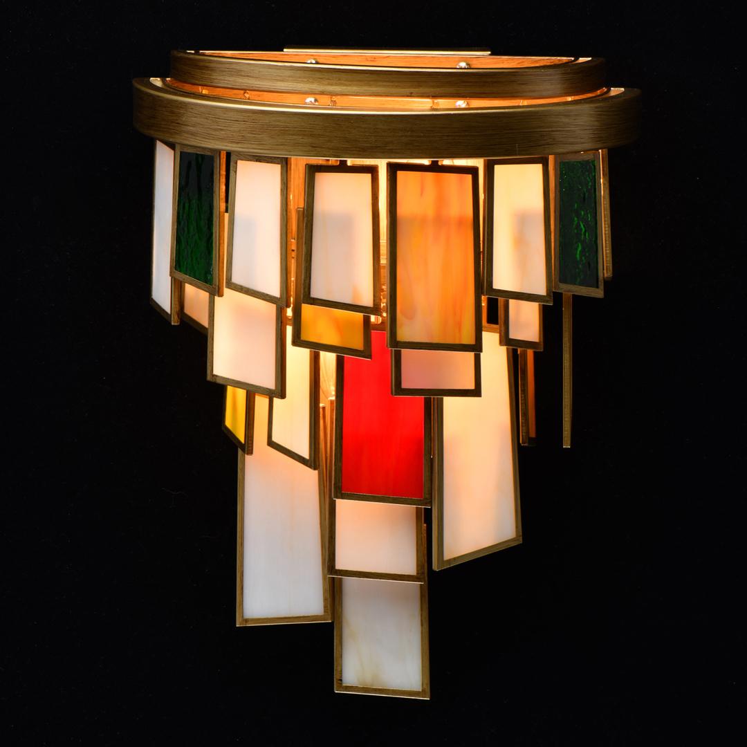 Aplica Maroc Megapolis 2 Brass - 185021002