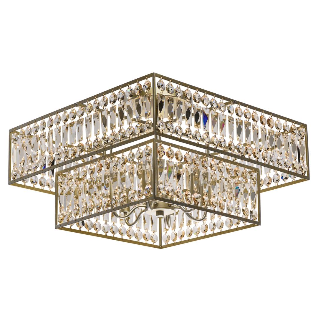 Lampa suspendată Monarch Crystal 6 Gold - 121012306