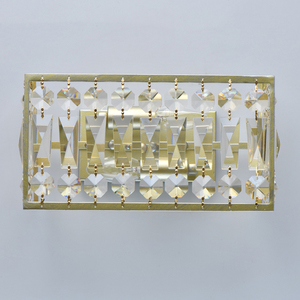 Sconce Monarch Crystal 2 Gold - 121022202 small 2