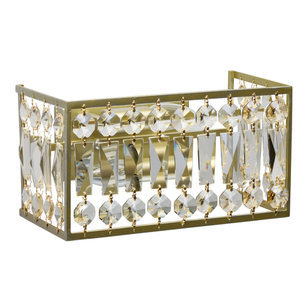 Sconce Monarch Crystal 2 Gold - 121022202 small 0