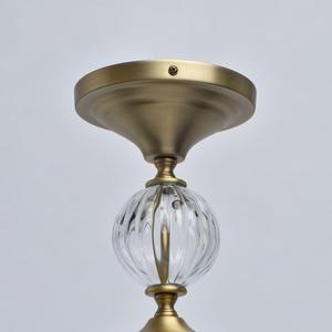 Lampa suspendată Odelia Classic 3 Brass - 619011203 small 7