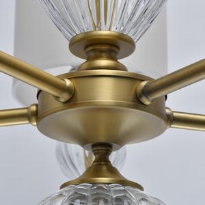 Lampa suspendată Odelia Classic 5 Brass - 619011305 small 13