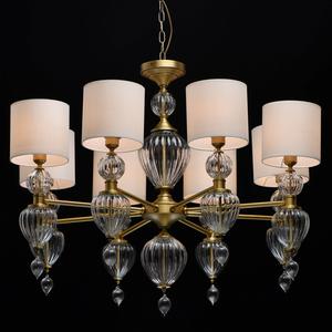 Lampa suspendată Odelia Classic 8 Brass - 619011408 small 1