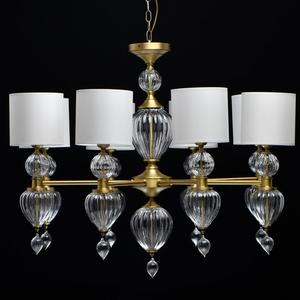 Lampa suspendată Odelia Classic 8 Brass - 619011408 small 5