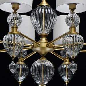 Lampa suspendată Odelia Classic 8 Brass - 619011408 small 9