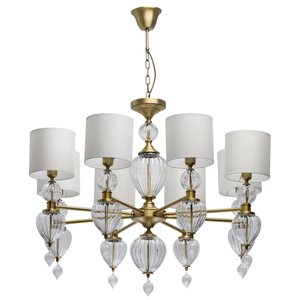 Lampa suspendată Odelia Classic 8 Brass - 619011408 small 0