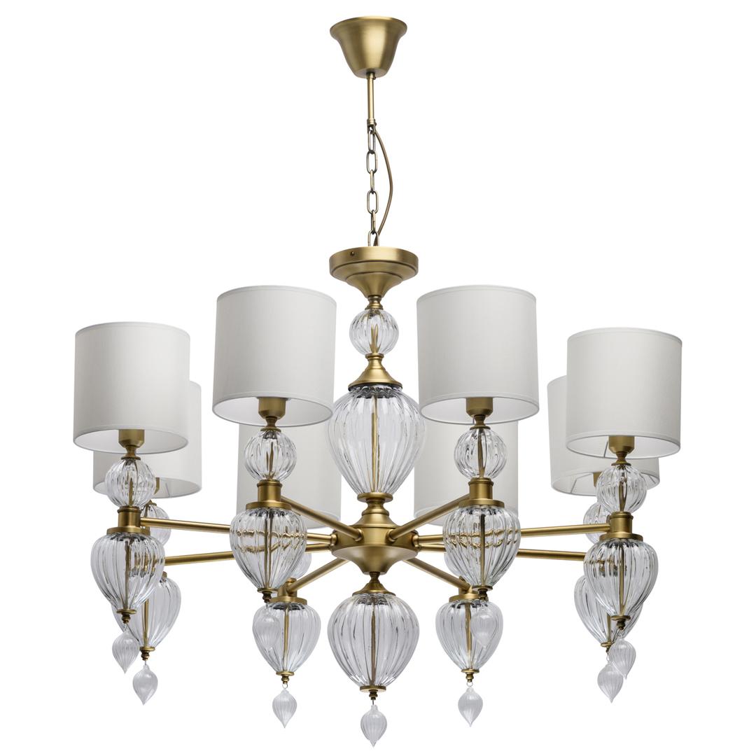 Lampa suspendată Odelia Classic 8 Brass - 619011408