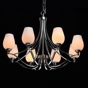 Lampă cu pandantiv Palermo Elegance 8 Chrome - 386016408 small 1