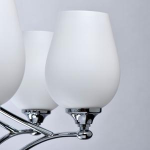 Lampă cu pandantiv Palermo Elegance 12 Chrome - 386016512 small 6