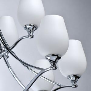 Lampă cu pandantiv Palermo Elegance 12 Chrome - 386016512 small 8