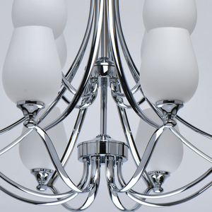 Lampă cu pandantiv Palermo Elegance 12 Chrome - 386016512 small 11