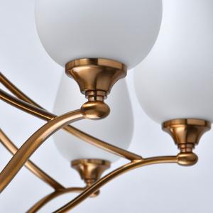 Lampă cu pandantiv Palermo Elegance 8 Alamă - 386016708 small 7