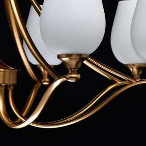 Lampă cu pandantiv Palermo Elegance 8 Alamă - 386016708 small 8