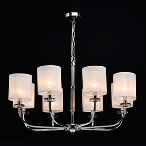 Lampă cu pandantiv Palermo Elegance 8 Chrome - 386017008 small 1