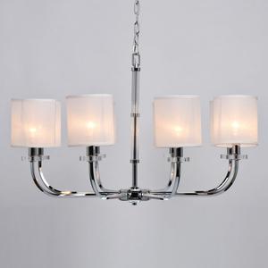 Lampă cu pandantiv Palermo Elegance 8 Chrome - 386017008 small 4