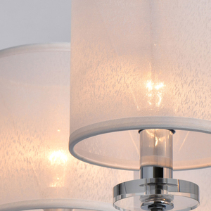 Lampă cu pandantiv Palermo Elegance 8 Chrome - 386017008 small 7