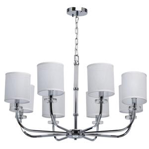 Lampă cu pandantiv Palermo Elegance 8 Chrome - 386017008 small 0