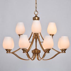 Lampă cu pandantiv Palermo Elegance 12 Alamă - 386016812 small 5