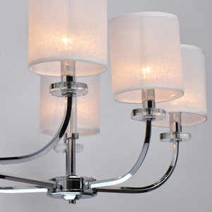 Lampă cu pandantiv Palermo Elegance 8 Chrome - 386017108 small 11