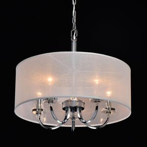 Lampă cu pandantiv Palermo Elegance 5 Chrome - 386017205 small 1