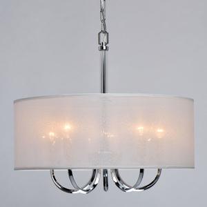Lampă cu pandantiv Palermo Elegance 5 Chrome - 386017205 small 4
