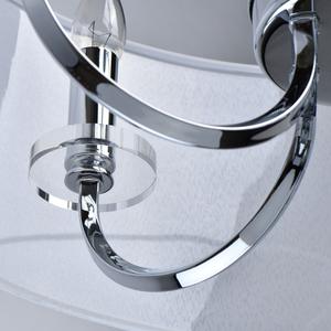 Lampă cu pandantiv Palermo Elegance 5 Chrome - 386017205 small 8