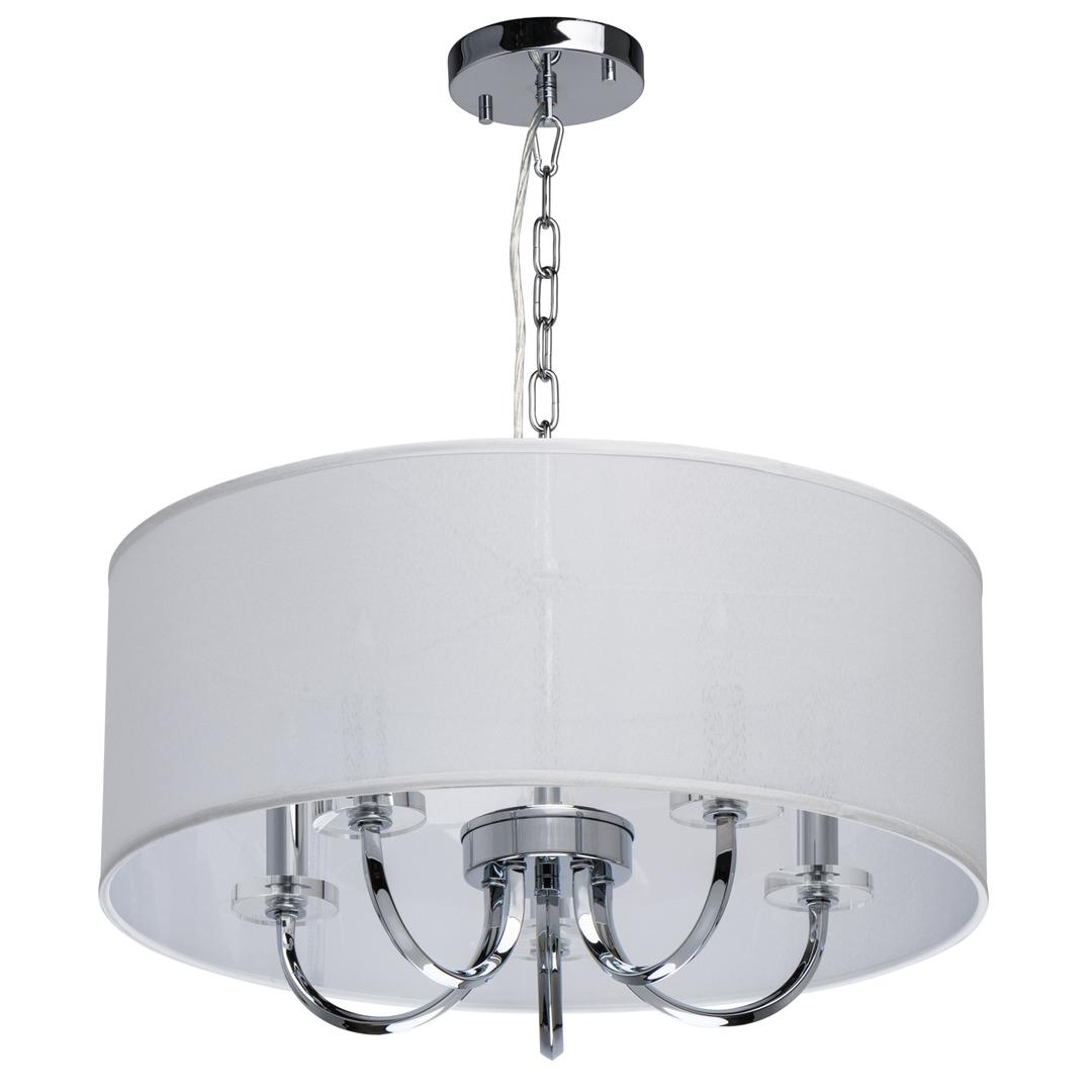 Lampă cu pandantiv Palermo Elegance 5 Chrome - 386017205