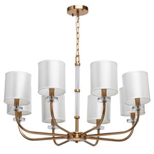 Lampă cu pandantiv Palermo Elegance 8 Alamă - 386017408 small 0