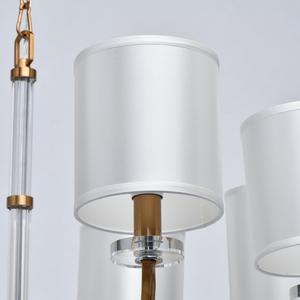 Lampă cu pandantiv Palermo Elegance 8 Brass - 386017508 small 5