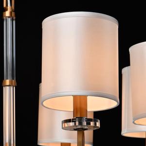 Lampă cu pandantiv Palermo Elegance 8 Brass - 386017508 small 6