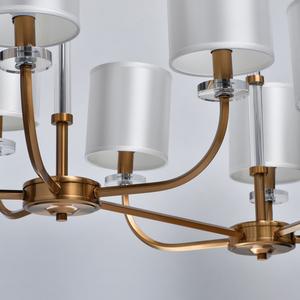 Lampă cu pandantiv Palermo Elegance 8 Brass - 386017508 small 11
