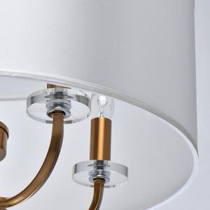 Lampă cu pandantiv Palermo Elegance 5 Brass - 386017605 small 5